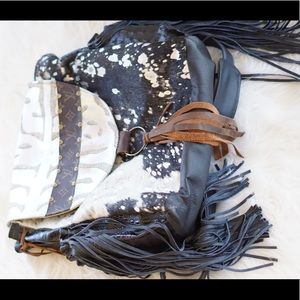 Handbags - Upcycled Cowhide Louis Vuitton backpack